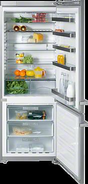 KFN 14943 SD ed/cs-1 - Wolno stojąca chłodziarko-zamrażarka duża pojemność i łatwe utrzymanie czystości dzięki NoFrost i ComfortClean.--