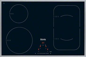 KM 6347 - Płyta indukcyjna ze strefą PowerFlex dla maksymalnej elastyczności i wydajności.--NO_COLOR