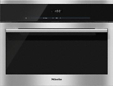 DG 6100 - Urządzenie do gotowania na parze do zabudowy z dotykowym wyświetlaczem dla łatwej obsługi.--