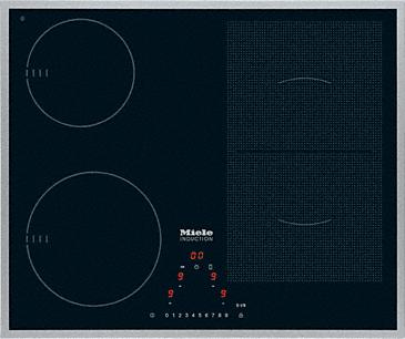 KM 6304 - Płyta indukcyjna ze strefą PowerFlex dla maksymalnej elastyczności i wydajności.--NO_COLOR