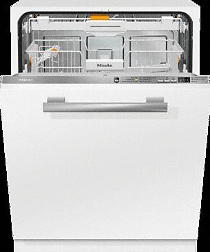 G 6660 SCVi - W pełni zintegrowana zmywarka do naczyń z szufladą na sztućce 3D+ i 44 dB (A) dla najwyższego komfortu.--